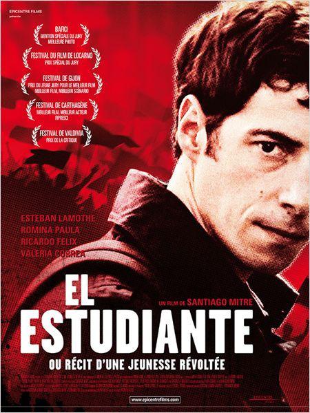 El estudiante ou récit d'une jeunesse révoltée | Mitre, Santiago (Réalisateur)