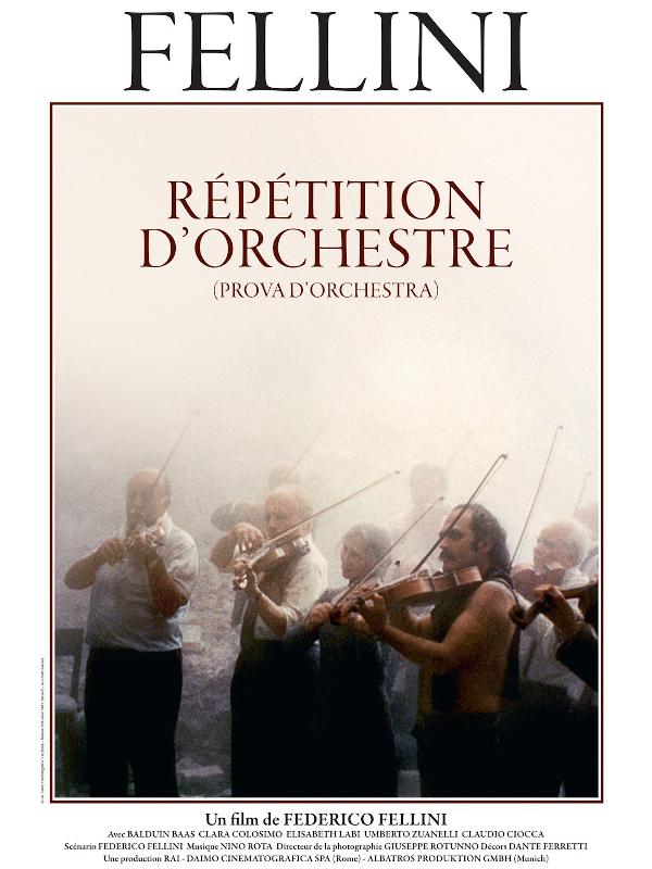 Répétition d'orchestre | Fellini, Federico (Réalisateur)