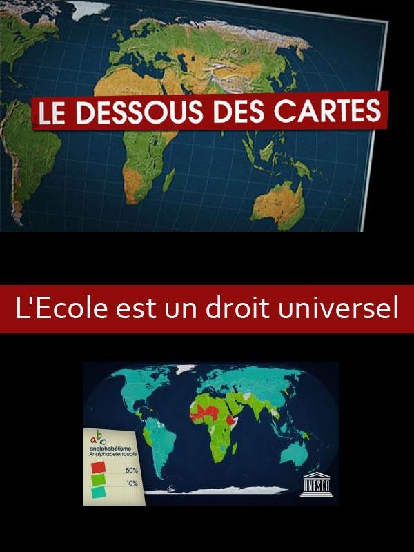 Dessous des cartes - L'école est un droit universel | Lernoud, Frédéric (Réalisateur)