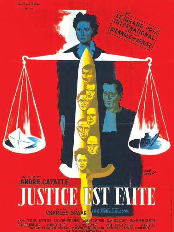Justice est faite | Cayatte, André (Réalisateur)