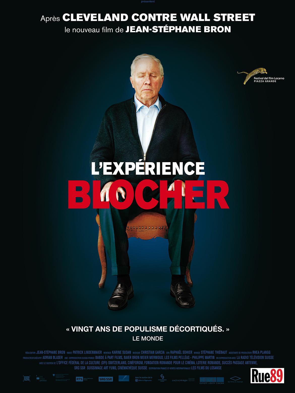 L'Expérience Blocher | Bron, Jean-Stéphane (Réalisateur)