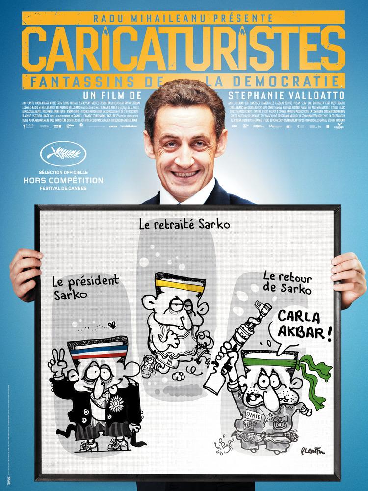 Caricaturistes, fantassins de la démocratie | Valloatto, Stéphanie (Réalisateur)