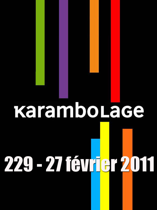 Karambolage 229 - 27 février 2011 | Doutriaux, Claire (Réalisateur)