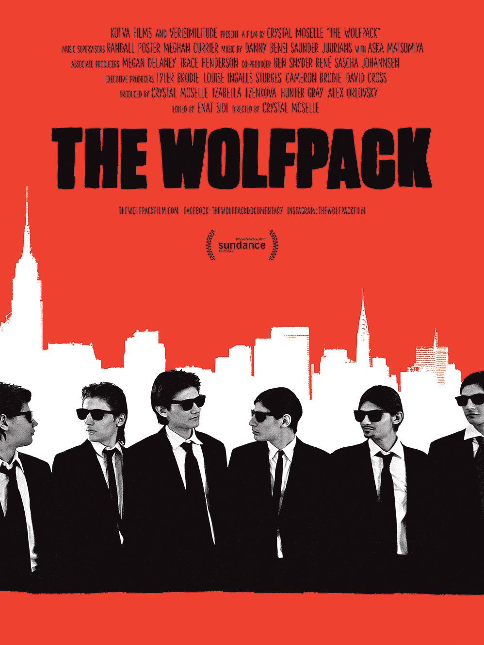 The Wolfpack | Moselle, Crystal (Réalisateur)