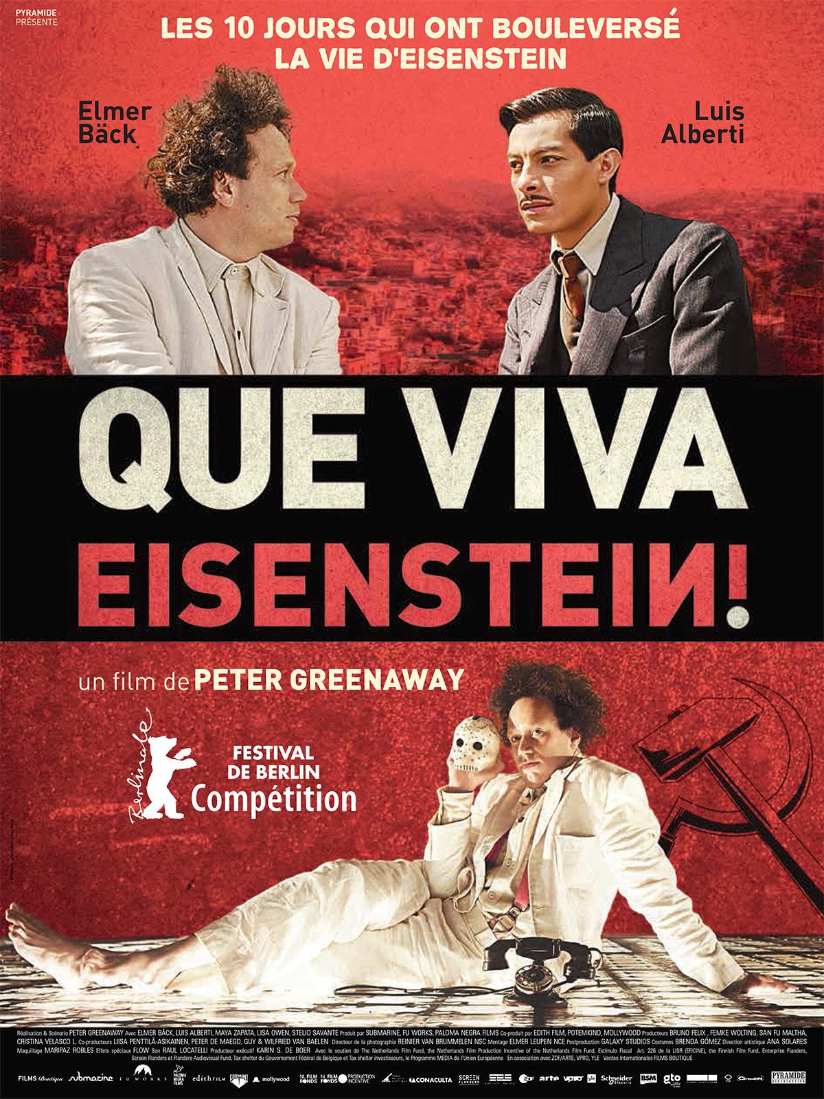 Que viva Eisenstein ! | Greenaway, Peter (Réalisateur)