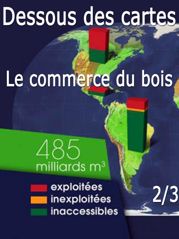 Dessous des cartes - Le commerce du bois 2/3 | Victor, Jean-Christophe (Réalisateur)