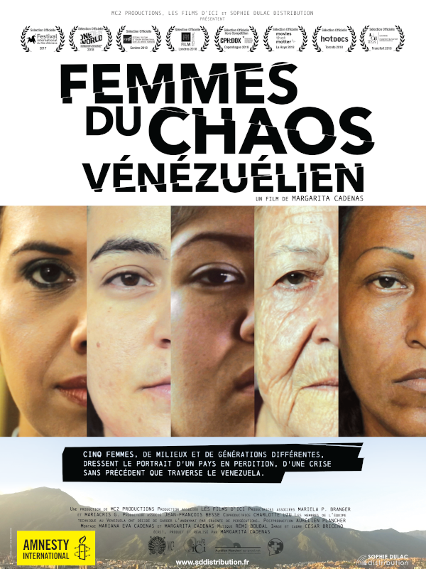 Femmes du chaos vénézuélien | Cadenas, Margarita (Réalisateur)