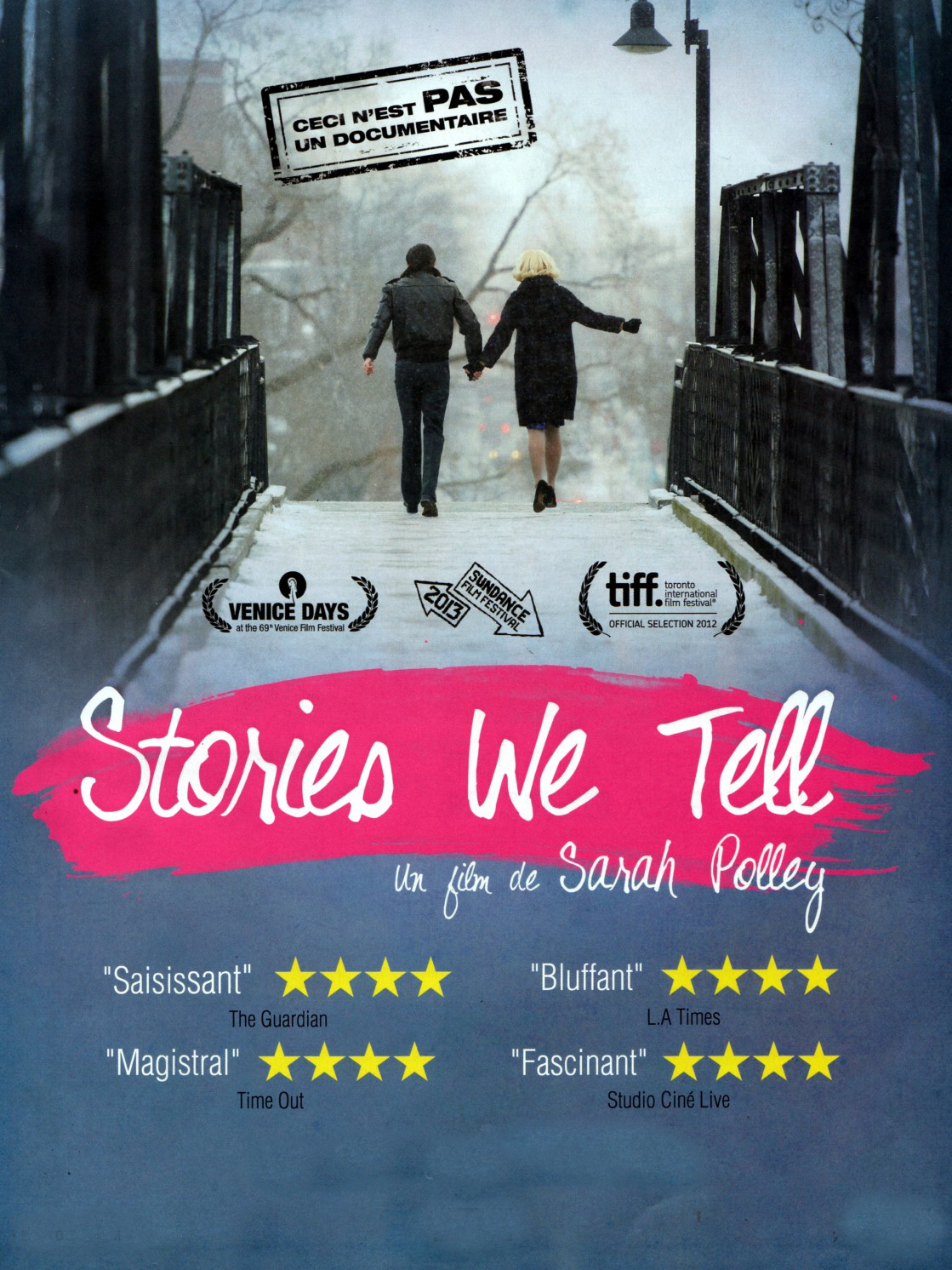 Stories We Tell | Polley, Sarah (Réalisateur)