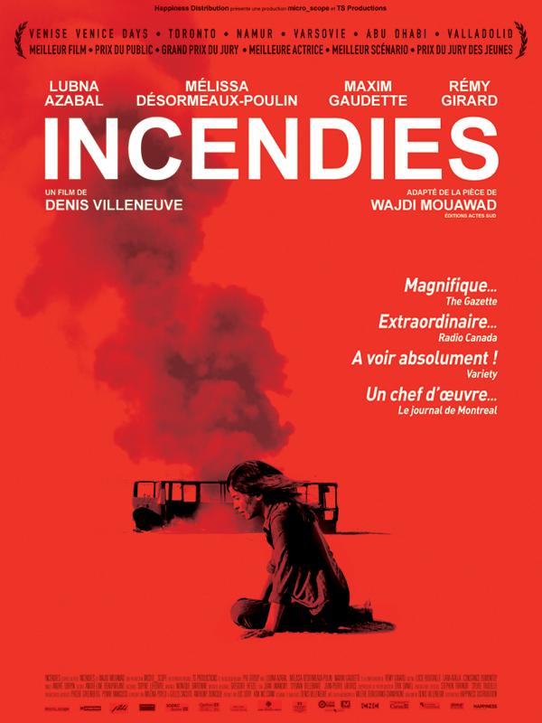 Incendies | Villeneuve, Denis (Réalisateur)
