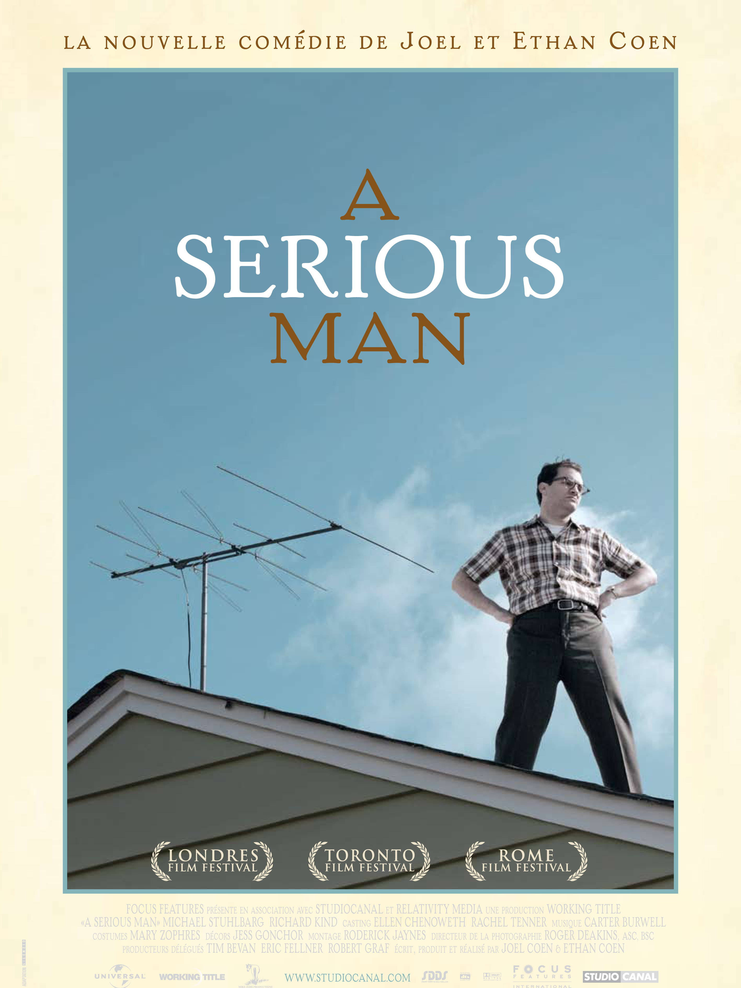 A serious man | Coen, Joel (Réalisateur)