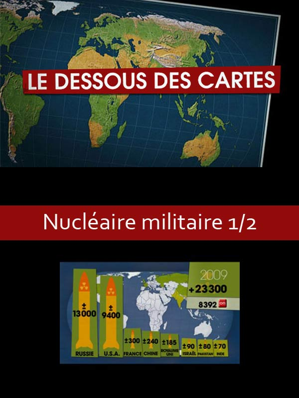 Le Dessous des cartes - Nucléaire militaire  : état des lieux | Ozil, Didier (Réalisateur)