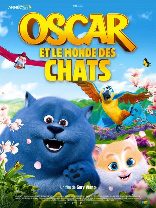 Oscar et le monde des chats | Wang, Gary (Réalisateur)