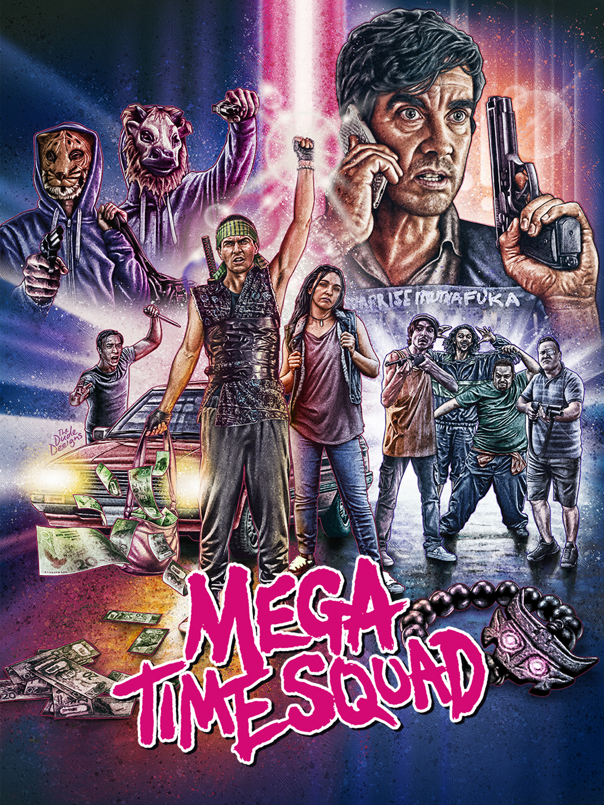 Mega Time Squad   van Dammen, Tim (Réalisateur)