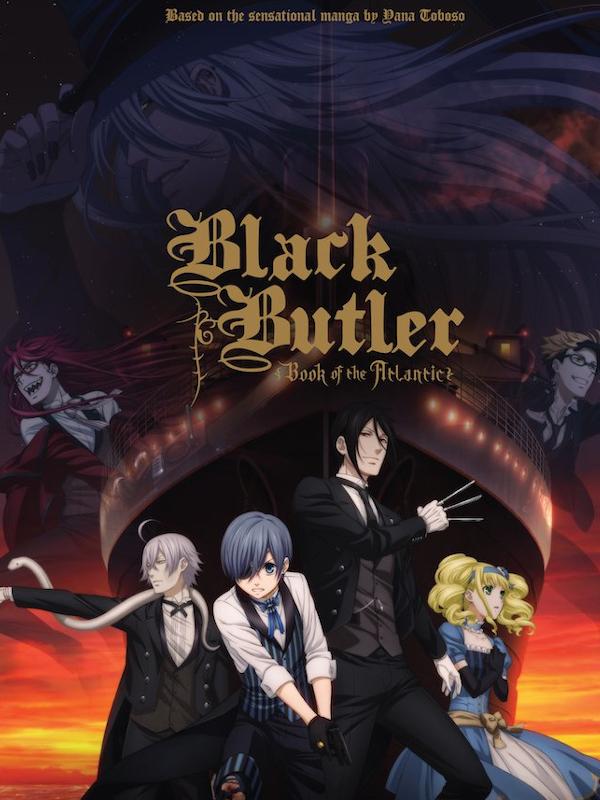 Black Butler : Book of the Atlantic   Abe, Noriyuki (Réalisateur)
