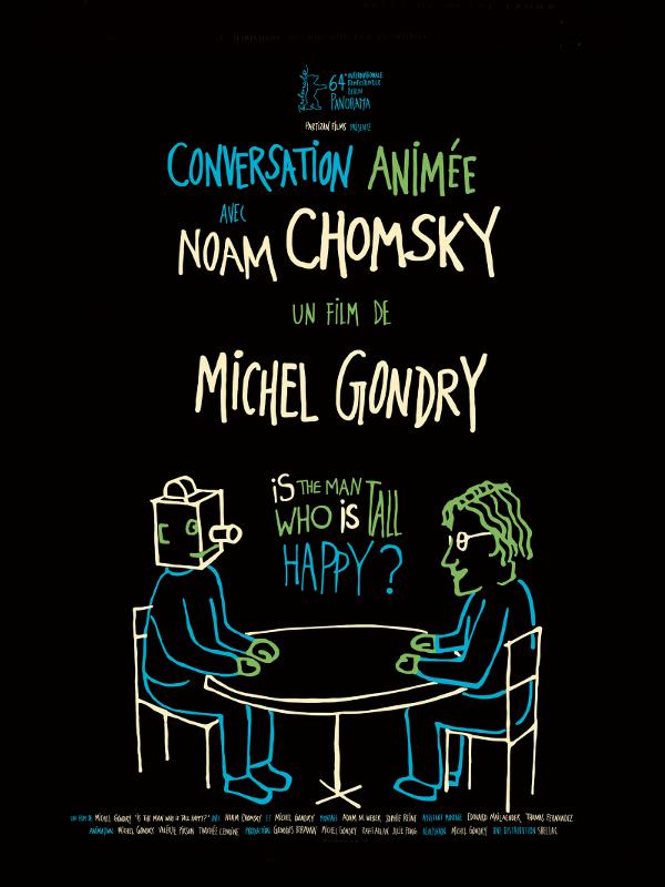 Conversation animée avec Noam Chomsky | Gondry, Michel (Réalisateur)
