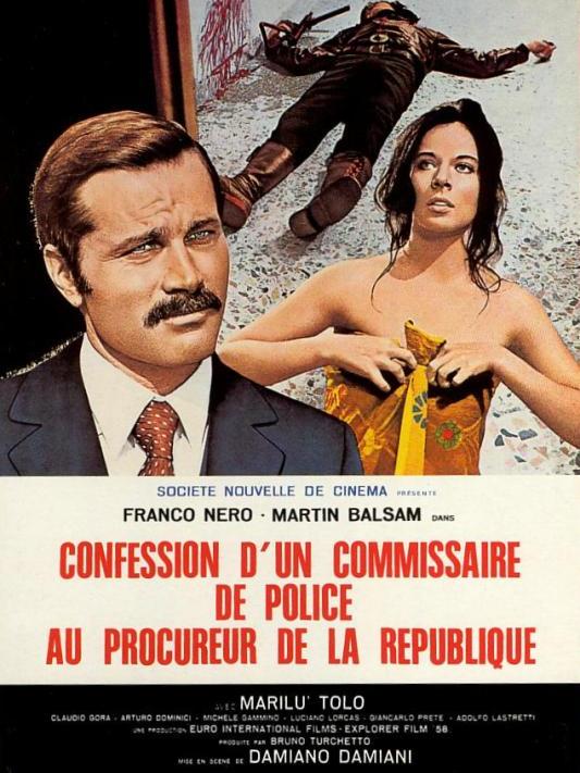 Confession d'un commissaire de police au procureur de la république | Damiani, Damiano (Réalisateur)
