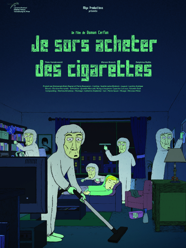 Je sors acheter des cigarettes | Cerfon, Osman (Réalisateur)