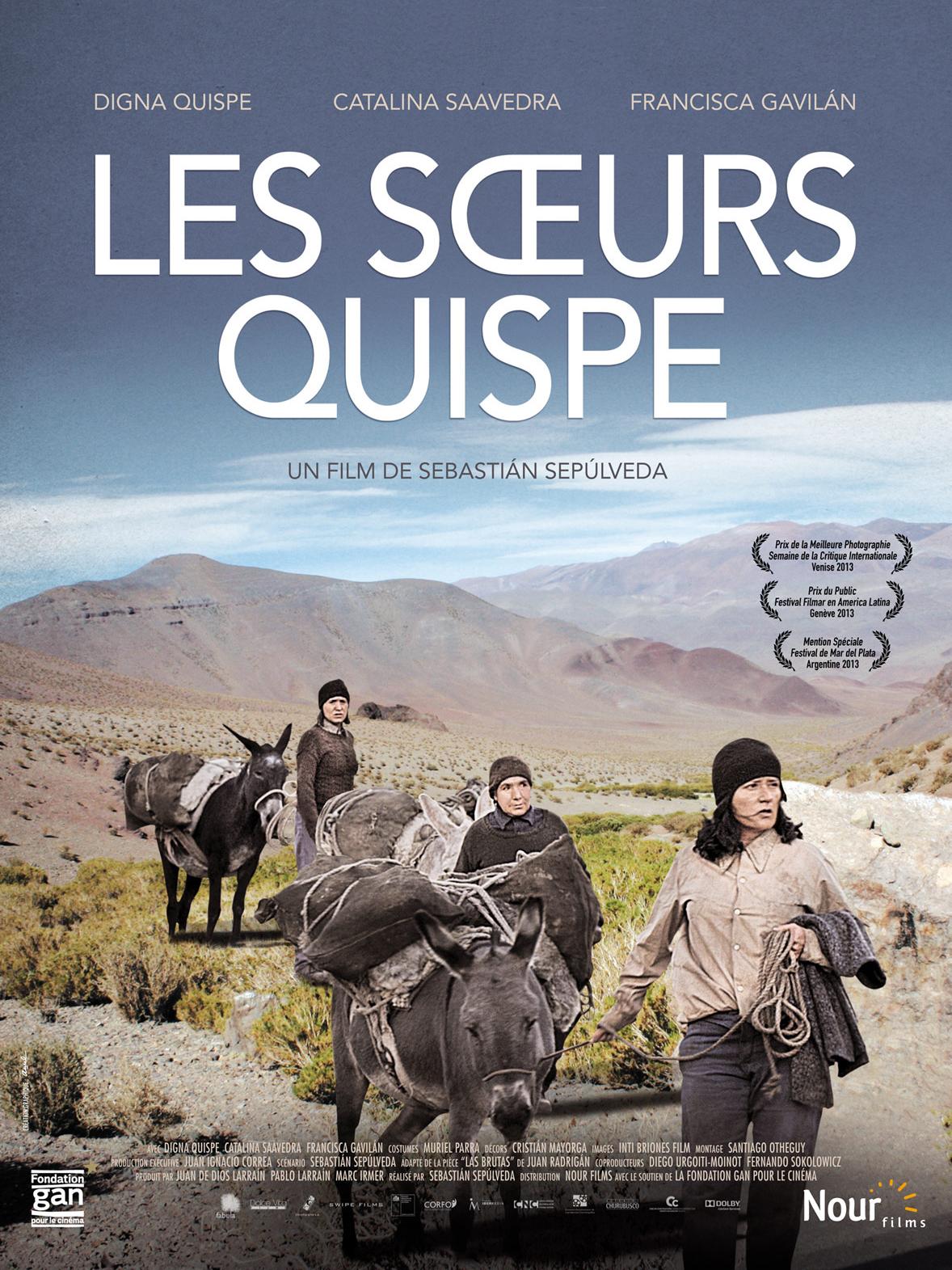 Les Soeurs Quispe | Sepúlveda, Sebastián (Réalisateur)