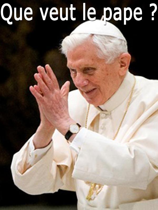 Que veut le pape ? | Vitkine, Antoine (Réalisateur)