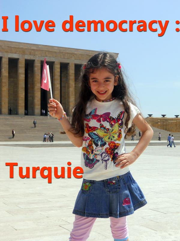 I love democracy :Turquie | Leconte, Daniel (Réalisateur)