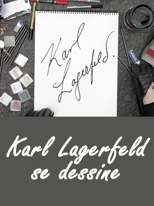 Karl Lagerfeld se dessine | Prigent, Loïc (Réalisateur)