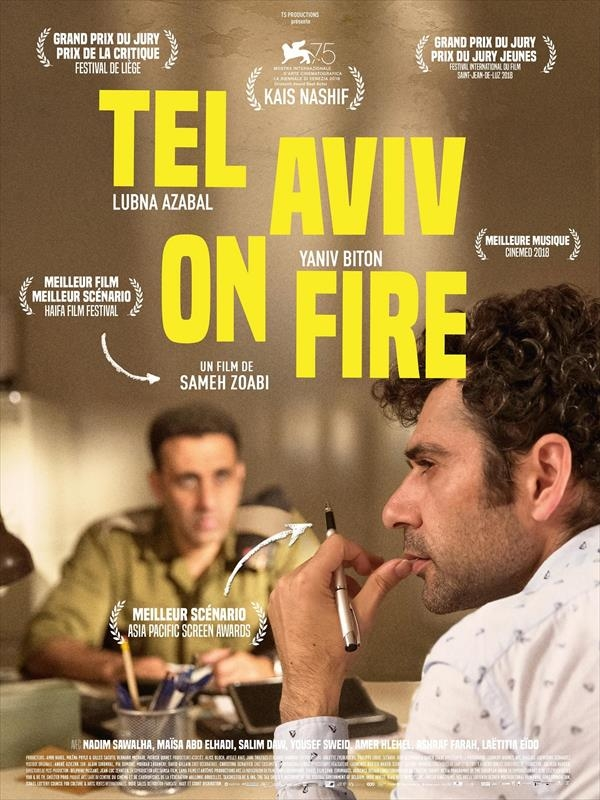 """Afficher """"Tel Aviv on Fire"""""""