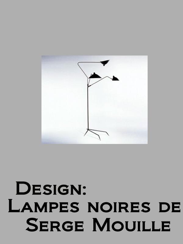 Design: Lampes noires de Serge Mouille   Schirman, Danielle (Réalisateur)
