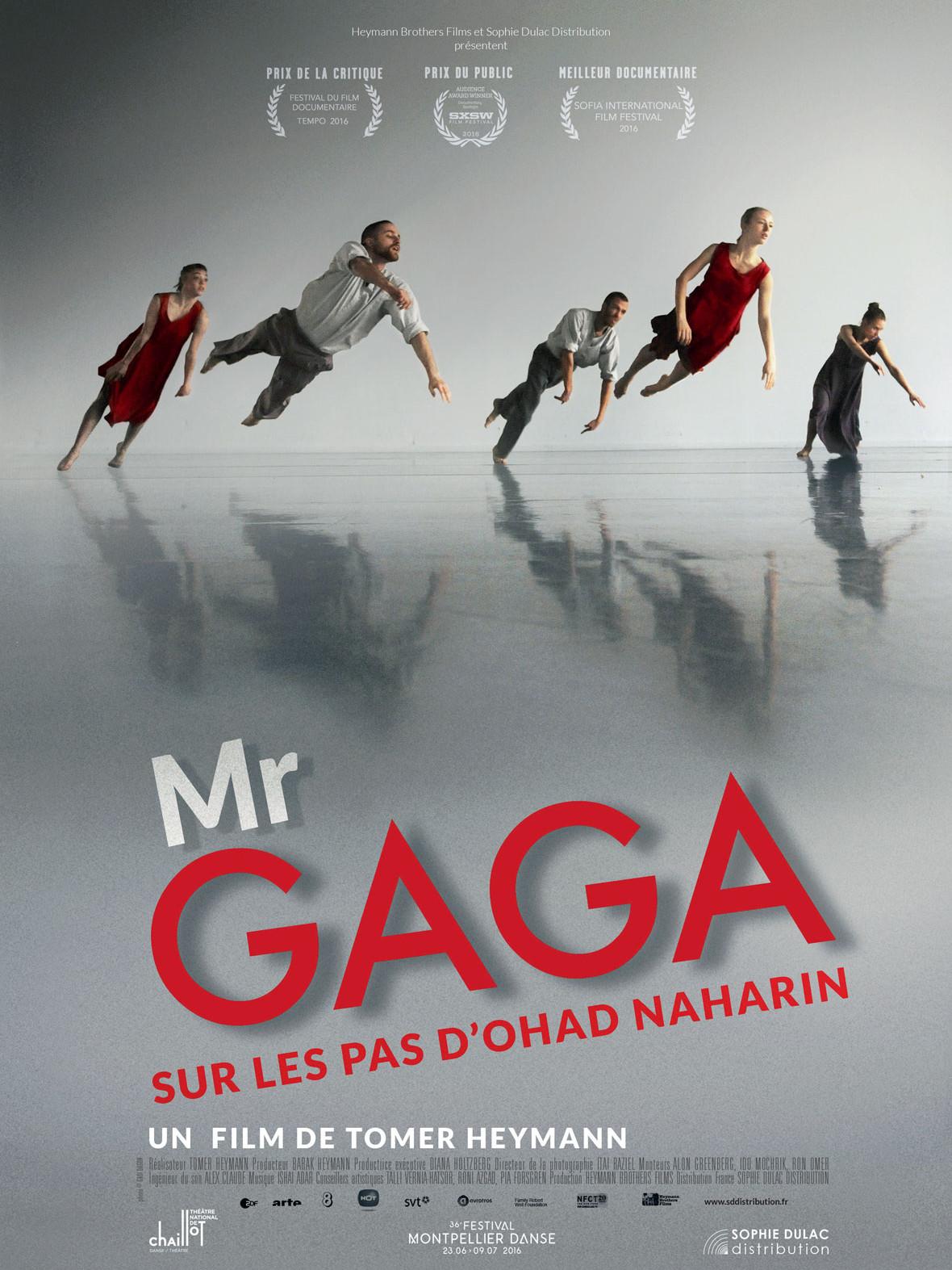 Mr. Gaga, sur les pas d'Ohad Naharin | Heymann, Tomer (Réalisateur)