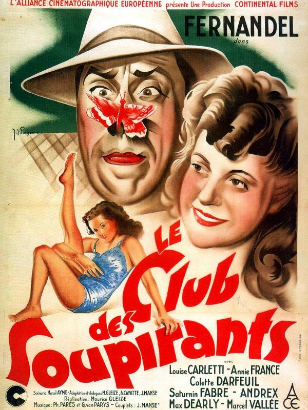 Le Club des soupirants | Gleize, Maurice (Réalisateur)