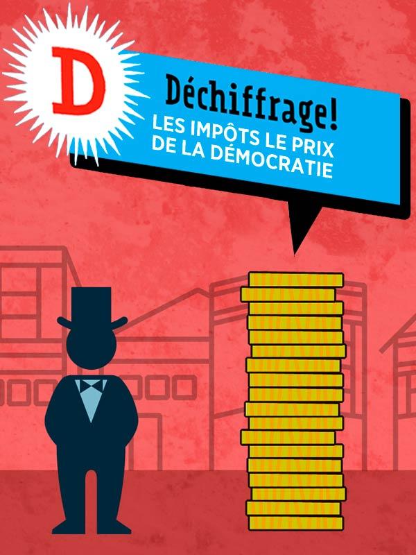 Déchiffrage - Les impôts, le prix de la démocratie | Kunvari En Collaboration Avec Laetitia Moreau, Anne (Réalisateur)