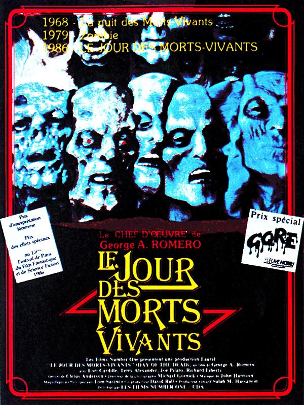 Le Jour des morts-vivants | Romero, George A. (Réalisateur)