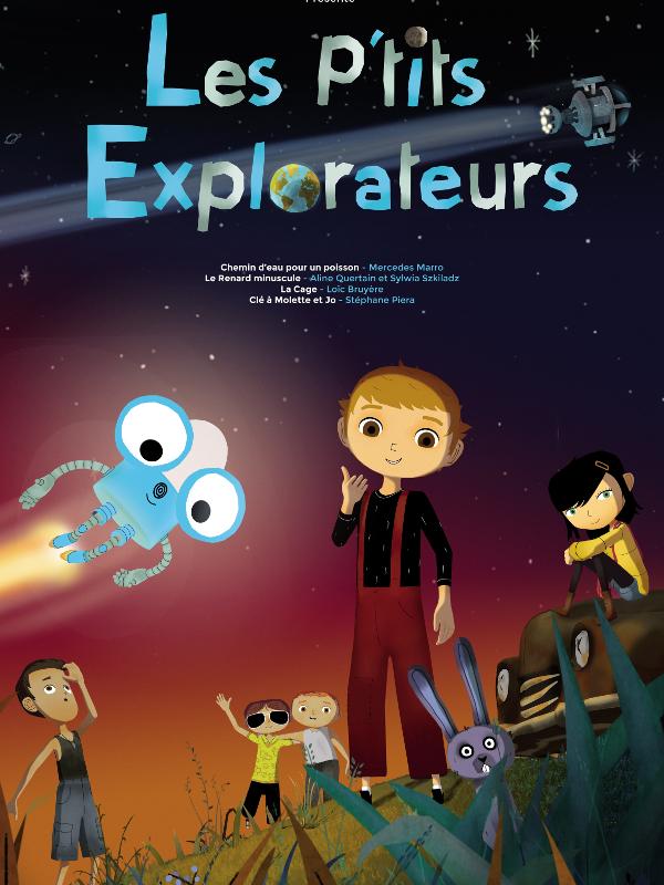 Les P'tits explorateurs | Marro, Mercedes (Réalisateur)