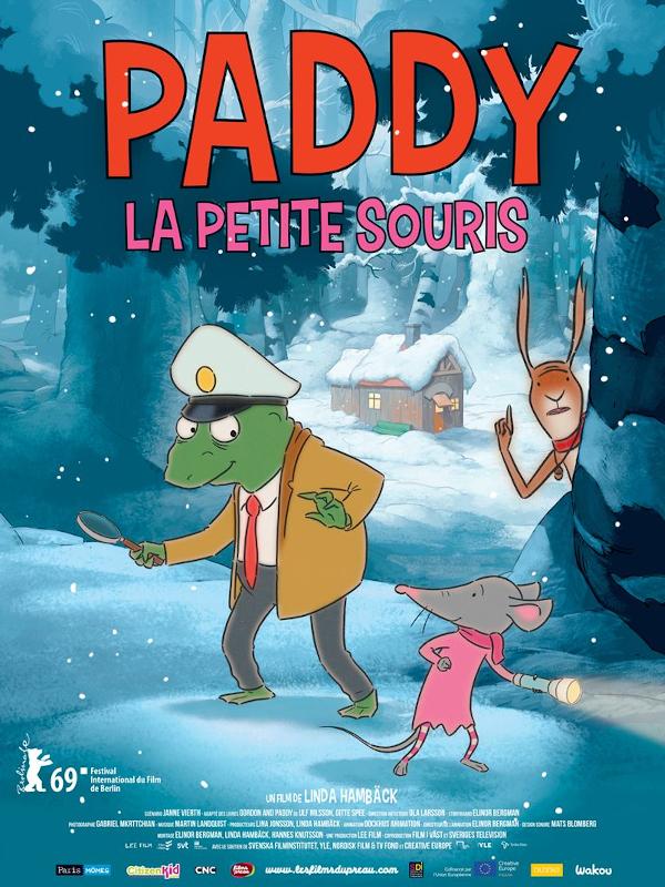 Paddy, la petite souris | Hambäck, Linda (Réalisateur)