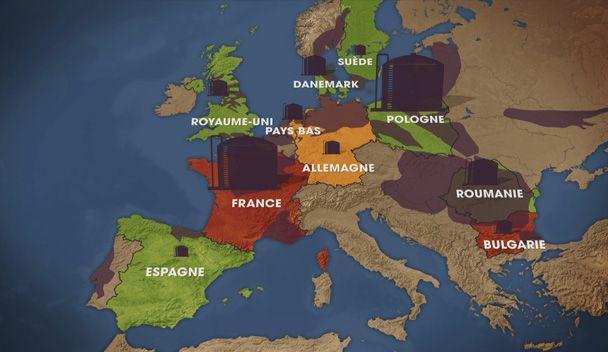 Image de Dessous des Cartes - Gaz de Schiste: une nouvelle géographie de l'énergie ? 2/2