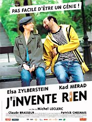 Movie poster of J'invente rien