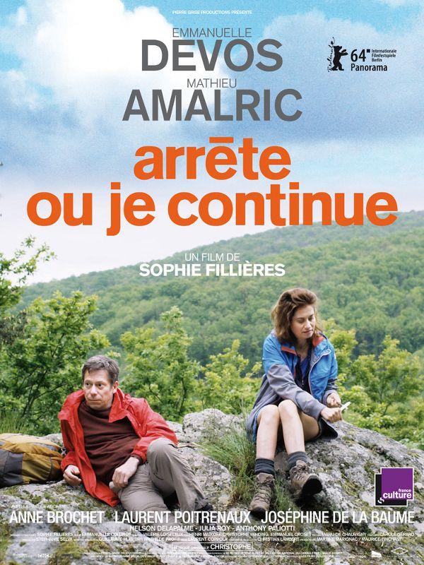 Movie poster of Arrête ou je continue