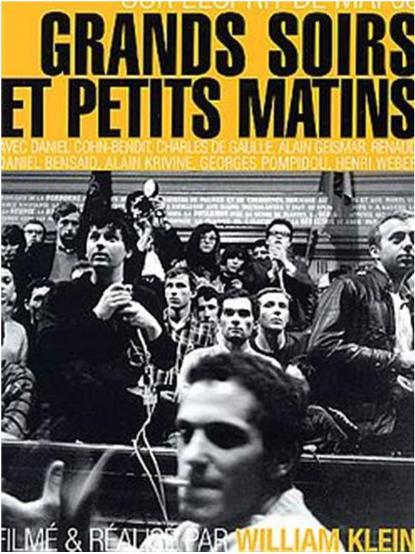 Movie poster of Grands soirs et petits matins