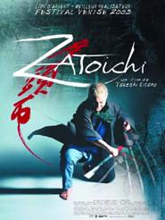 Movie poster of Zatoichi