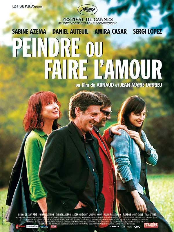 Movie poster of Peindre ou faire l'amour