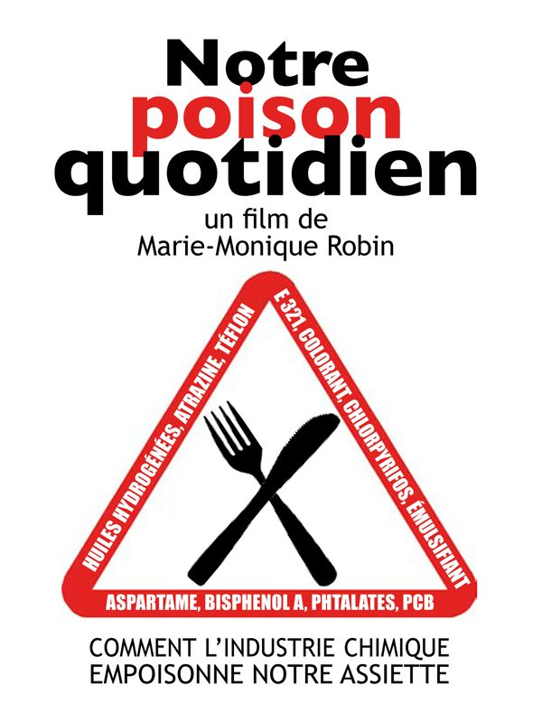Movie poster of Notre poison quotidien