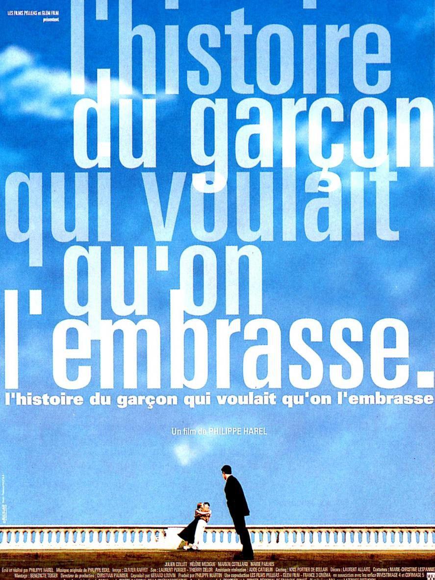 Movie poster of L'Histoire du garçon qui voulait qu'on l'embrasse
