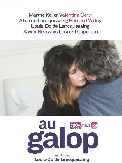 Movie poster of Au galop