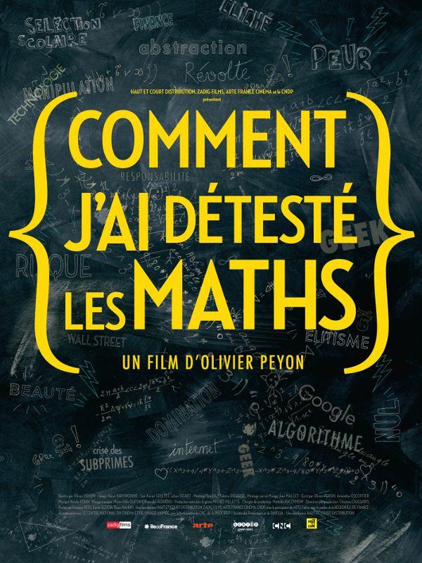 Movie poster of Comment j'ai détesté les maths