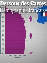 Movie poster of Dessous des Cartes - Démographie française