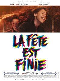 Movie poster of La Fête est finie