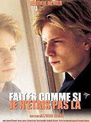 Movie poster of Faites comme si je n'étais pas là