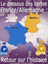 Movie poster of Le dessous des cartes - France/Allemagne : retour sur l'histoire
