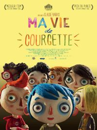 Movie poster of Ma vie de courgette