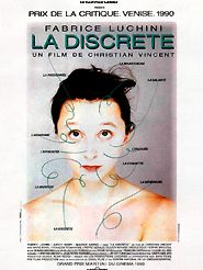 Movie poster of La Discrète