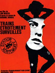Movie poster of Trains étroitement surveillés